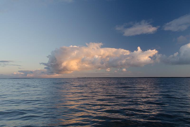 サロマ湖から女満別
