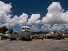古宇利島の漁港