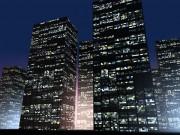 ビルの灯り