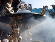 龍山寺 香炉