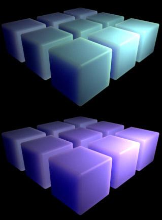 カラー光源とSSS