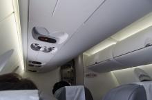 CRJ700の機内