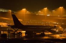 夜のターミナル