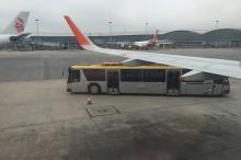 香港空港でもバス