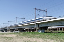 市川、新幹線