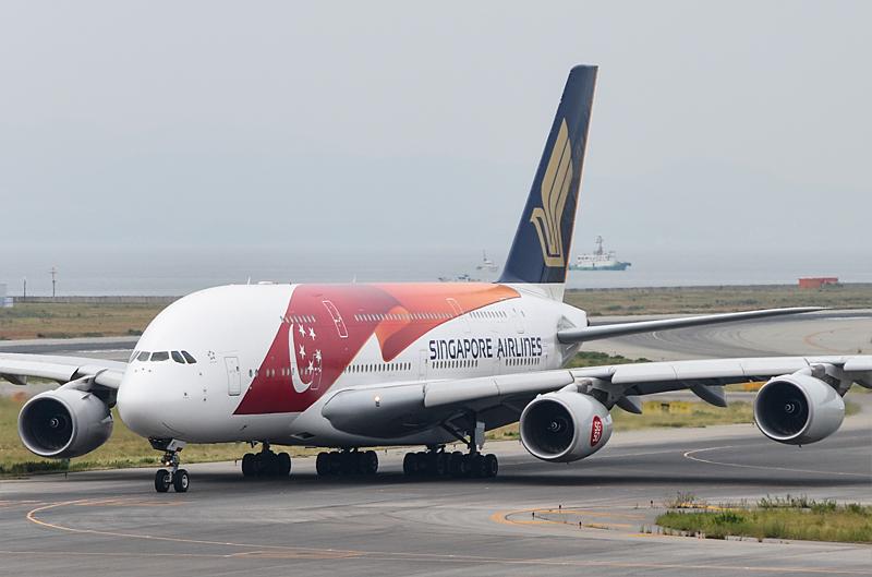 お盆の来客A380