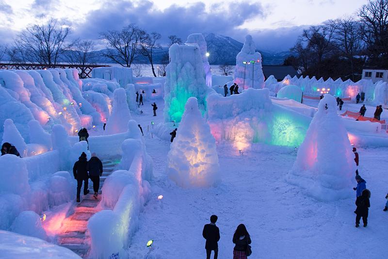冬の北海道、撮り鉄