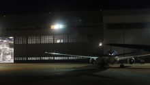 ANA 機体整備場