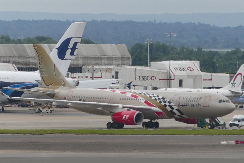 ヒースロー空港 ターミナル2から イギリス旅行-2