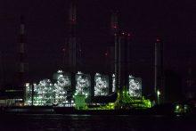 堺臨海工場夜景