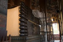涅槃仏の足の裏