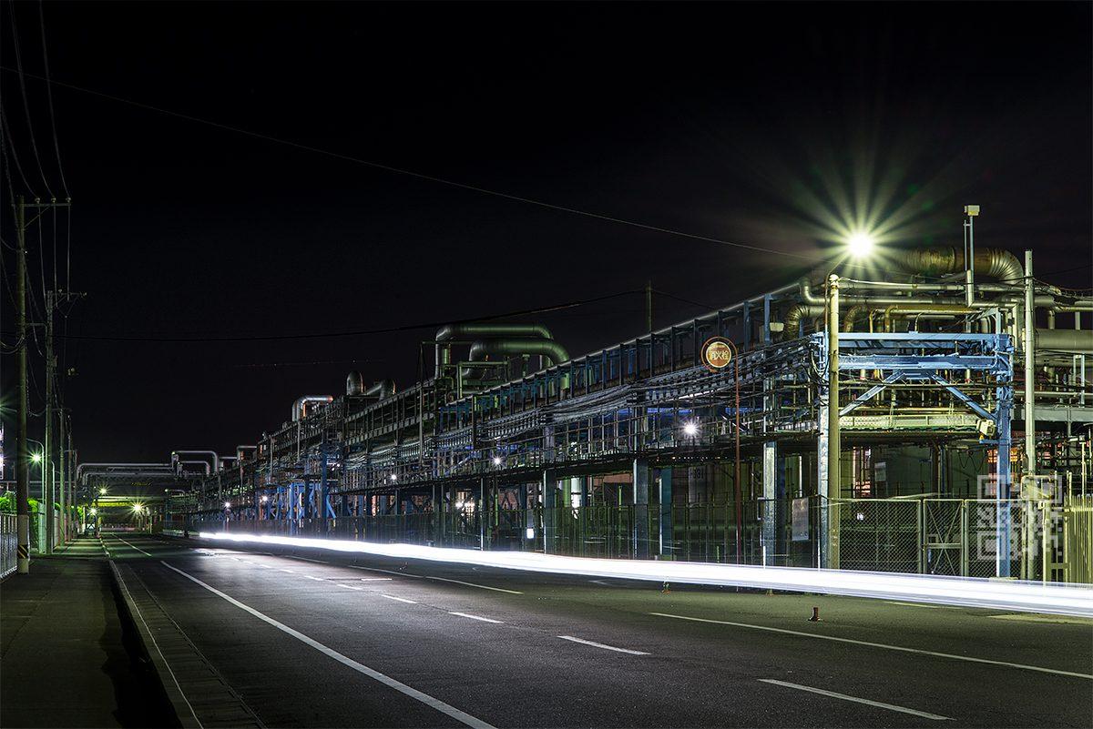 大竹市工場夜景