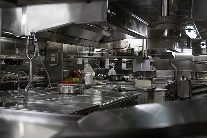 バルト海クルーズ -5 厨房探訪