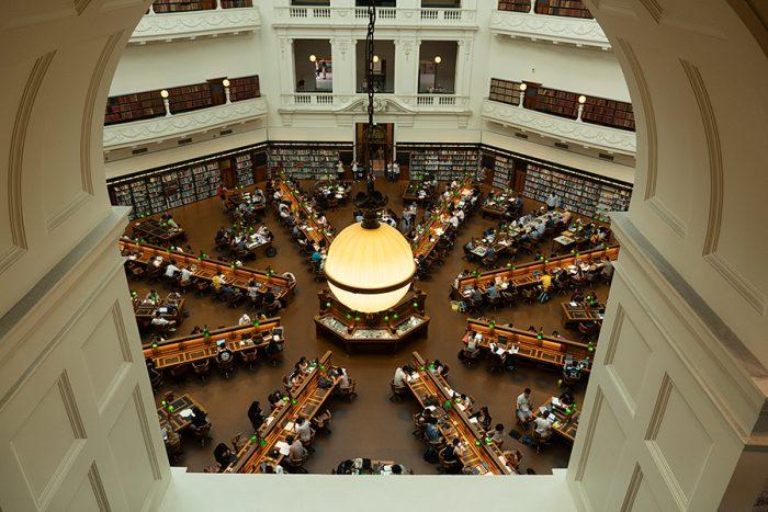 State Library of Victoria(ビクトリア州立図書館)