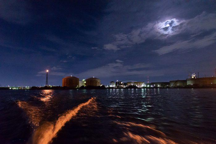 堺工場夜景