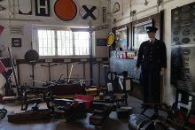 キュルンクスボァン西駅資料館