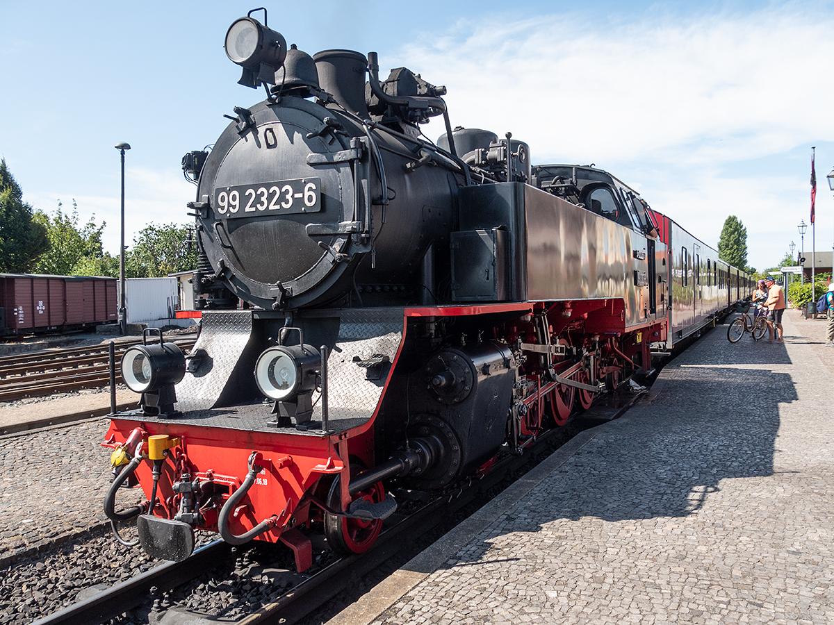 バルト海クルーズ -4 ドイツ/モリー鉄道SL