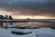 琵琶湖冬景色