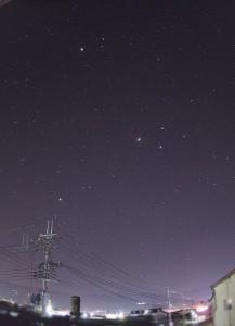 ひさしぶりの星撮