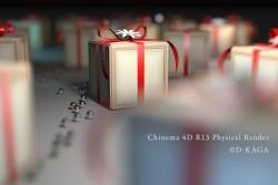 C4D R13フィジカルレンダー