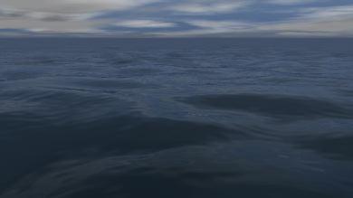 OceanっぽいのをC4Dで